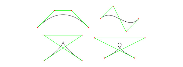 Cubic Bezier Shapes