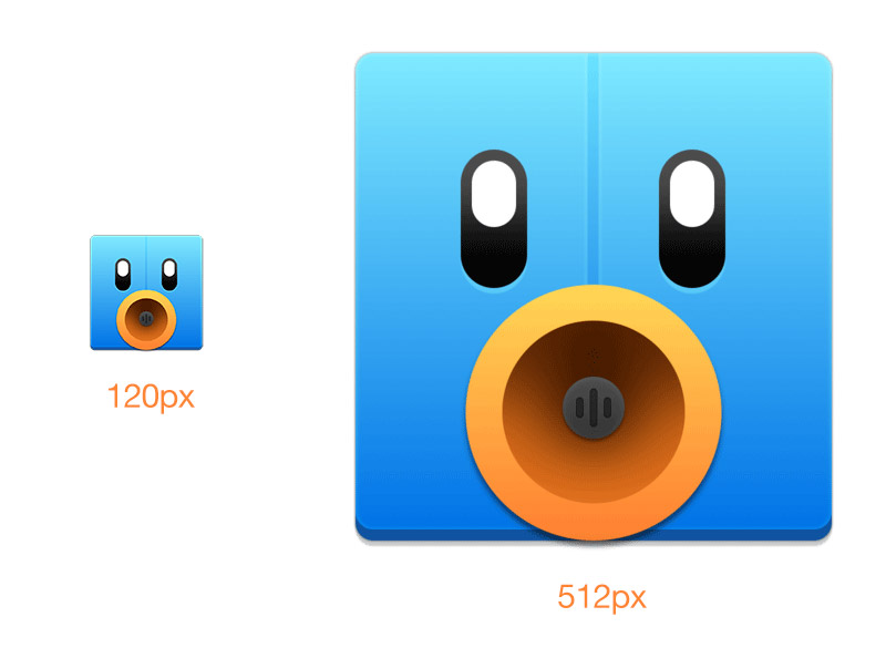 tweetbot large and small icons