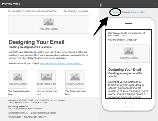 Getting started with mailchimps email designer once you have found the layout you wish to use click on select altavistaventures Images