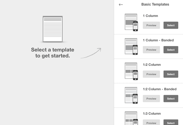 how to add 3 columns in mailchimp