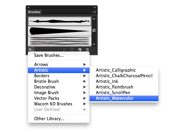 brush libraries