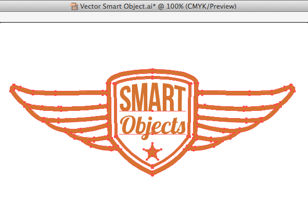 vector smart object