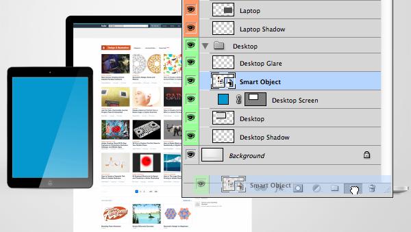 duplicate smart object