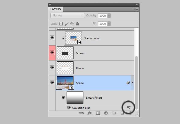 blending mode icon