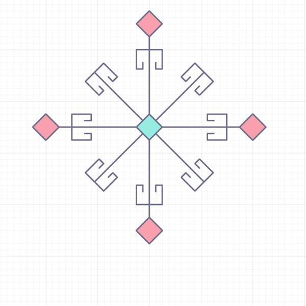 middle rhombus