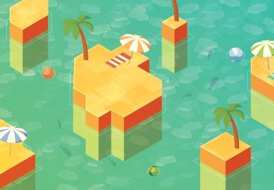 Isometric vector preview