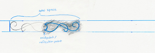 copy design with tracing paper