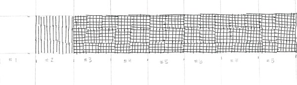 Crosshatching value scale 4