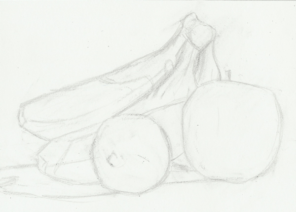 Sketch in still life
