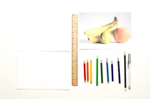 2-Layer color pencil - supplies
