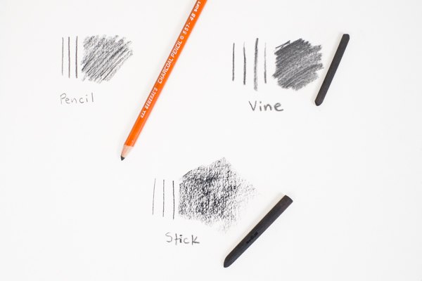 the basics of sketching with charcoal