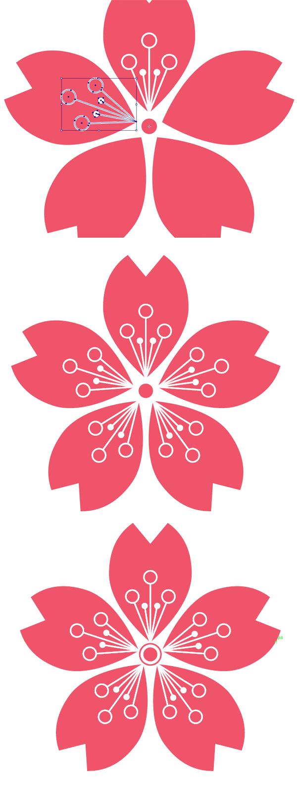 Create A Gentle Flat Oriental Pattern In Adobe Illustator