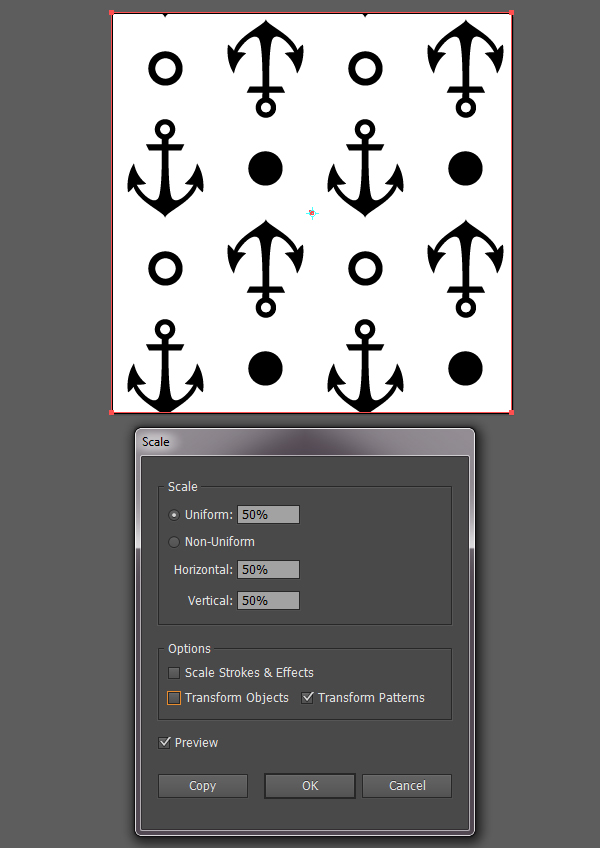 Anchor seamless scale tool 1