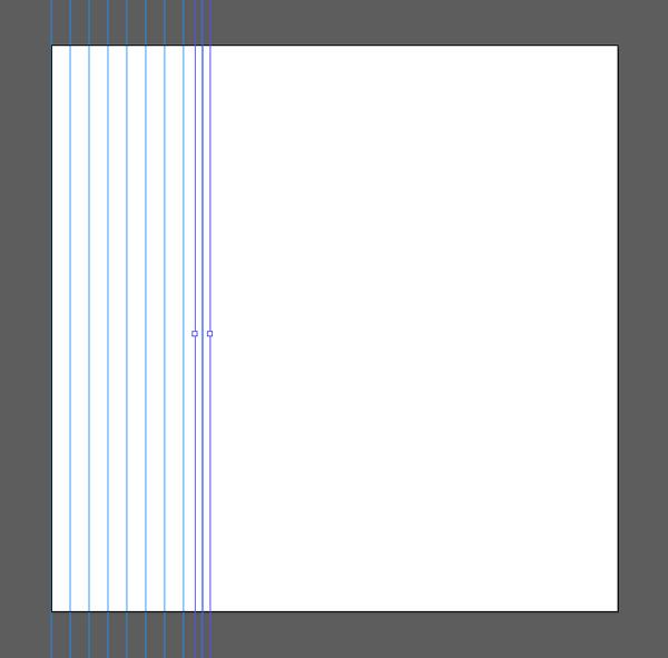 duplicate vertical lines