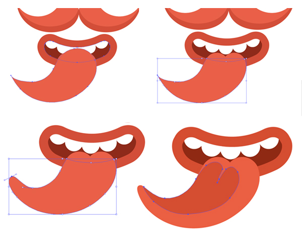 modify the tongue