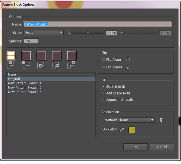 create a pattern brush 2