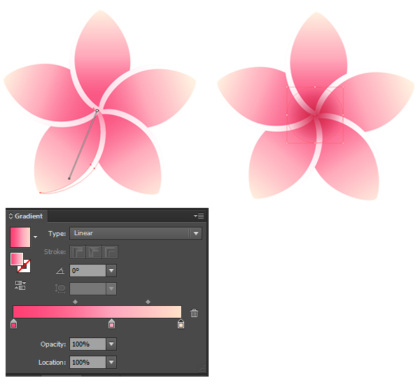 recolor and improve your flower