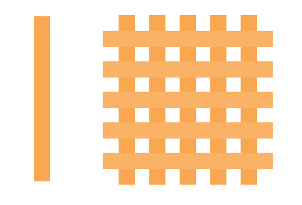 create a grating texture