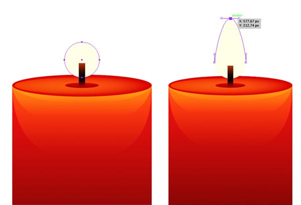 render the candle flame 1