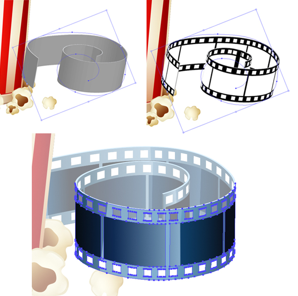 create another film tape
