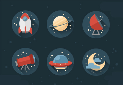 Space icons photoshop yuzach400