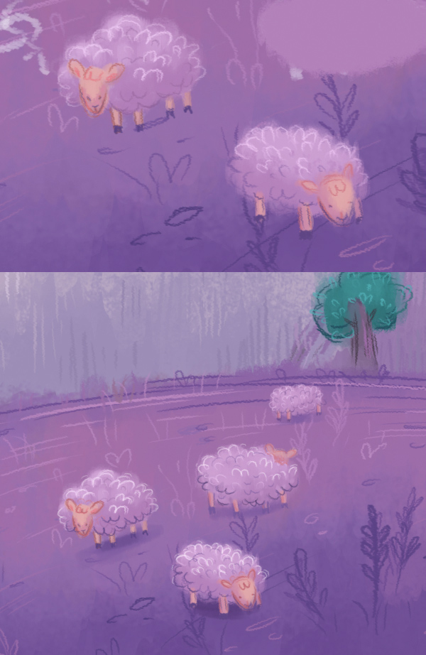 color the sheep 2