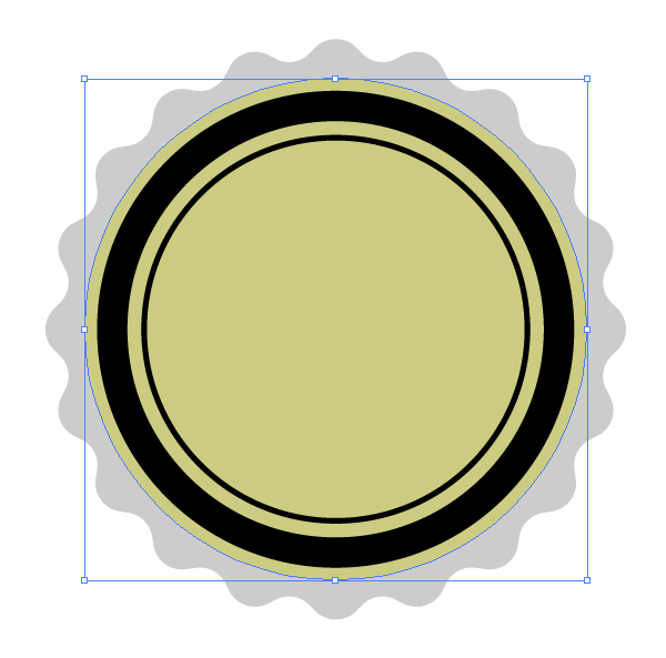create a circle with ellipse tool