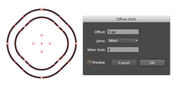 use offset path 1