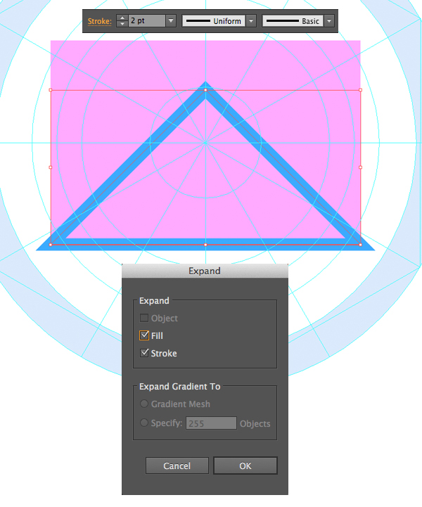 how to use one object to cut another in illustrator