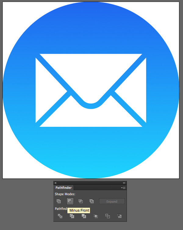 finish the mail icon