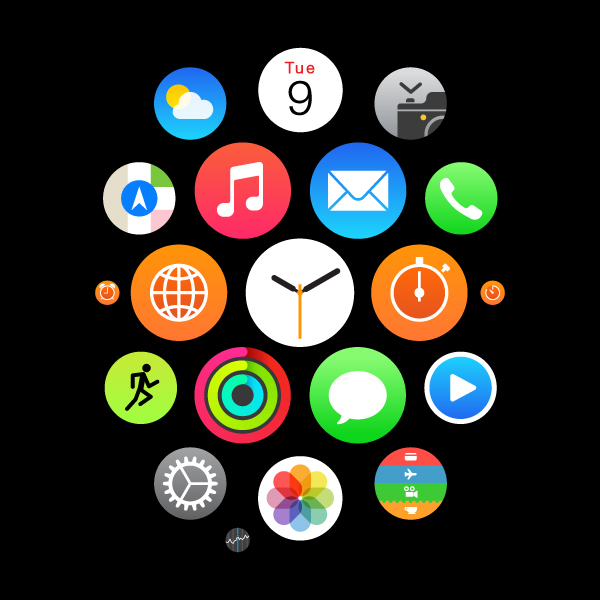 Create A Set Of Apple Watch Icons In Adobe Illustrator