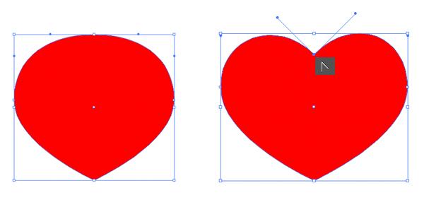 shape the heart suit symbol 2