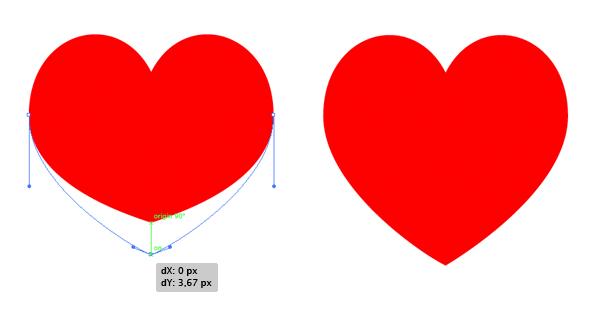 shape the heart suit symbol 4