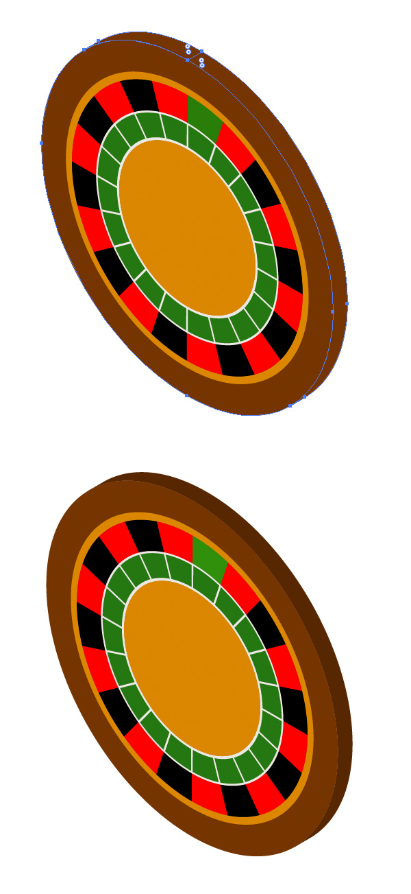 Object  Expand Appearance of the roulette