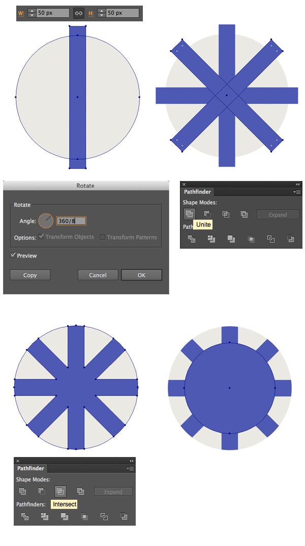 make a circle poker chip base