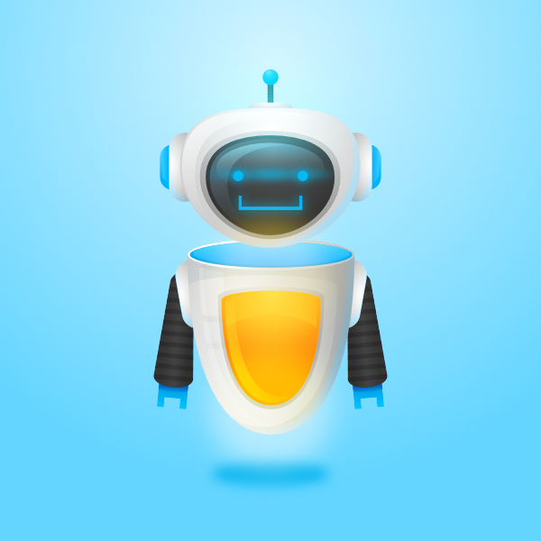 Create a Friendly, Futuristic Robot in Affinity Designer