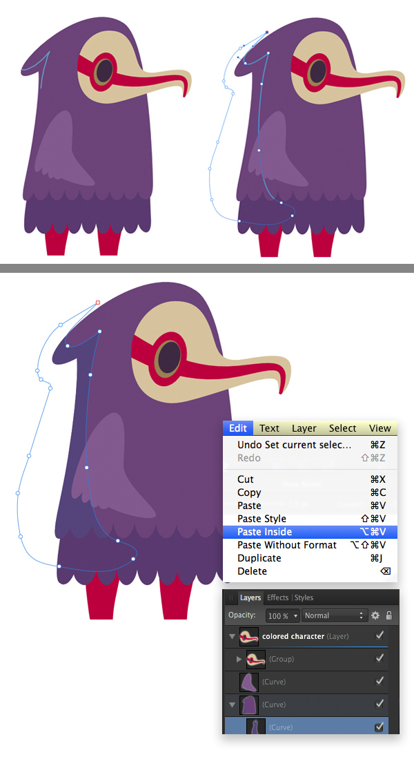 how to create a game character sprite sheet in affinity designer