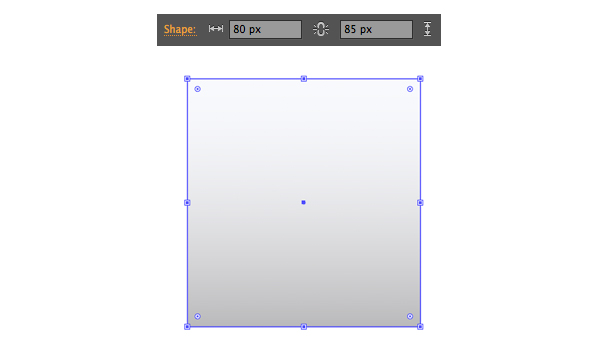 shape the scales from a rectangle 1