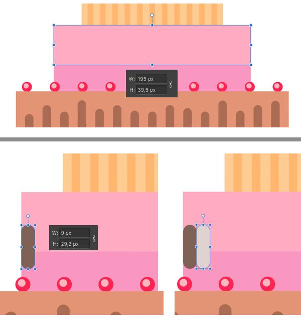 make strawberry pink drips 1
