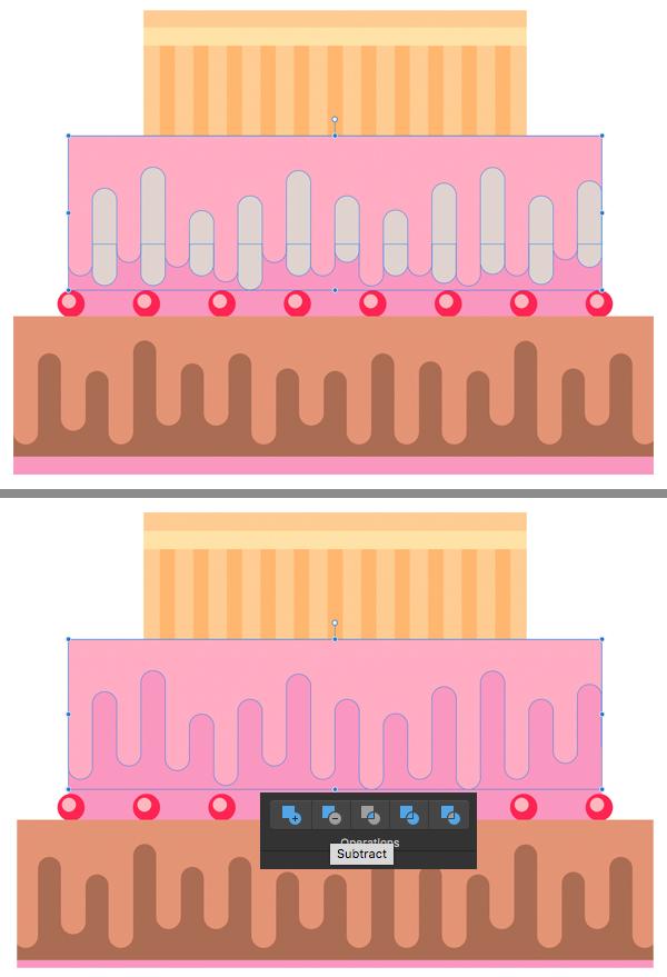make strawberry pink drips 4