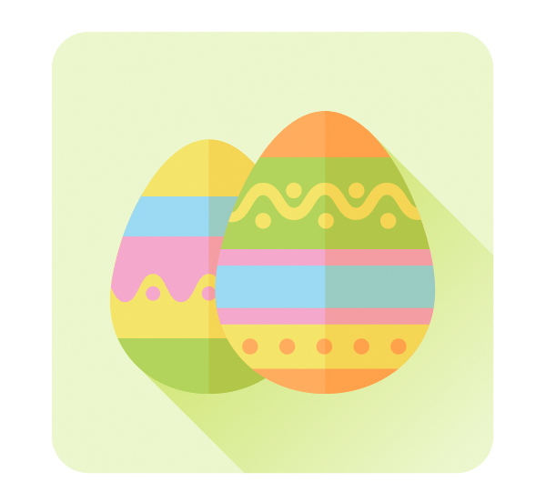 the eggs icon is finished