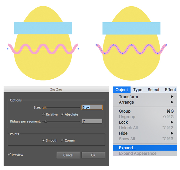 How to Create Flat Design Easter Icons in Adobe Illustrator