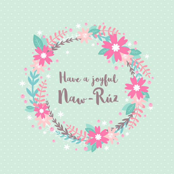 How to Design a Naw-Rúz Floral Card in Adobe Illustrator