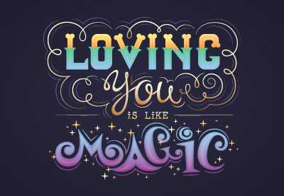 44 love lettering400