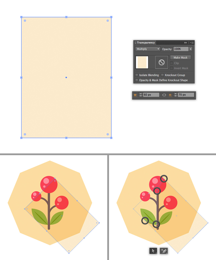 how to make icons in illustrator
