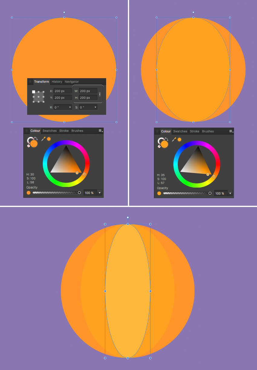 how to create a logo in affinity designer