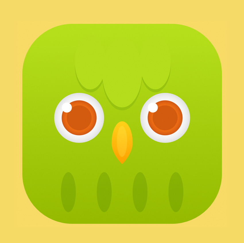 Our parrot icon is ready