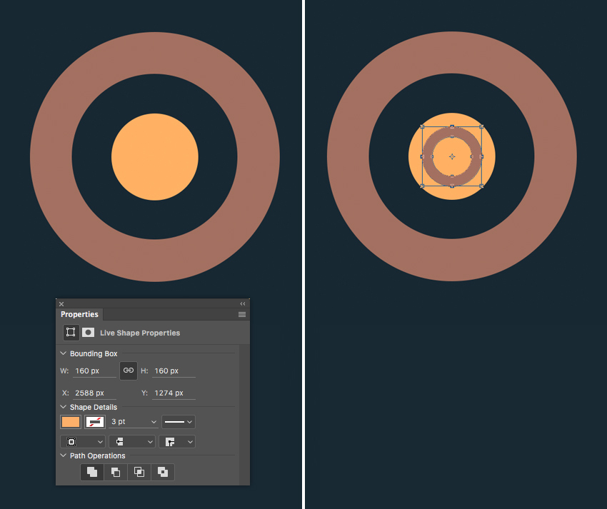 form the inner part of the wheel  How to Create Flat Pirate Icons in Adobe Photoshop 9 pirate icons flat