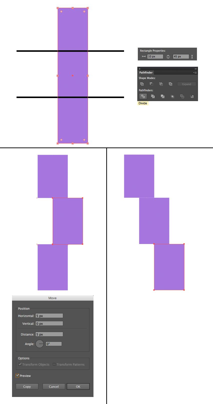 make a lightning bolt emblem 1