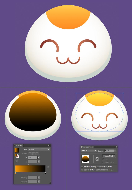 Illustrator设计可爱招财猫卡通图片